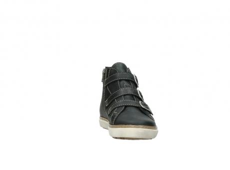 wolky sneakers 9455 vancouver 500 zwart geolied leer_18