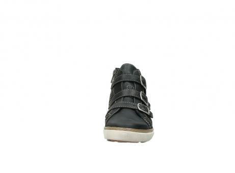 wolky sneakers 9455 vancouver 500 zwart geolied leer_19
