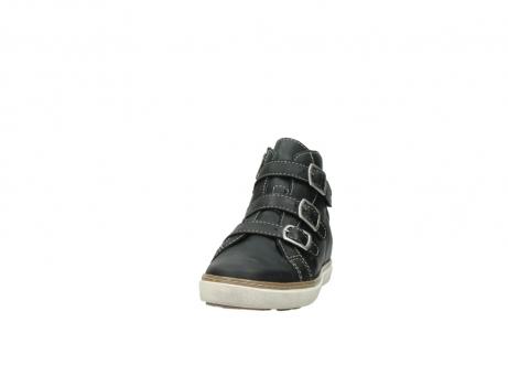 wolky sneakers 9455 vancouver 500 zwart geolied leer_20