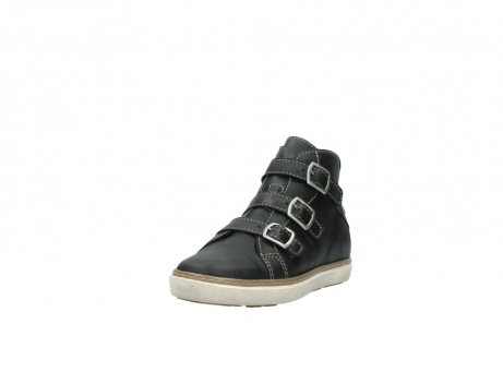 wolky sneakers 9455 vancouver 500 zwart geolied leer_21