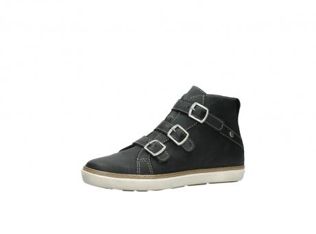 wolky sneakers 9455 vancouver 500 zwart geolied leer_23