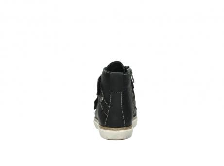 wolky sneakers 9455 vancouver 500 zwart geolied leer_7