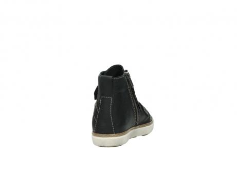wolky sneakers 9455 vancouver 500 zwart geolied leer_8