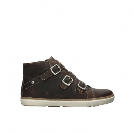 wolky sneakers 9455 vancouver 543 cognac geoltes leder