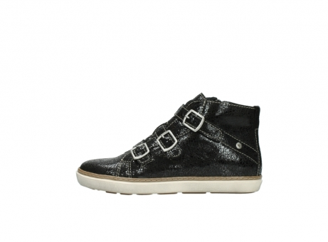 wolky sneakers 9455 vancouver 900 zwart craquele leer_1