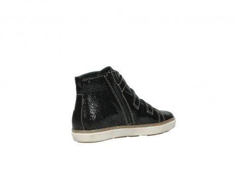 wolky sneakers 9455 vancouver 900 zwart craquele leer_10
