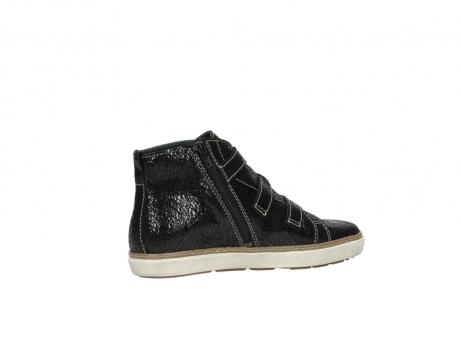 wolky sneakers 9455 vancouver 900 zwart craquele leer_11