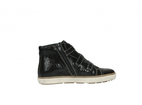 wolky sneakers 9455 vancouver 900 zwart craquele leer_12