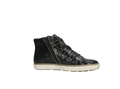 wolky sneakers 9455 vancouver 900 zwart craquele leer_14