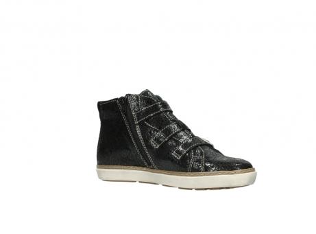 wolky sneakers 9455 vancouver 900 zwart craquele leer_15