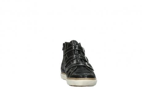 wolky sneakers 9455 vancouver 900 zwart craquele leer_18