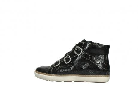 wolky sneakers 9455 vancouver 900 zwart craquele leer_2