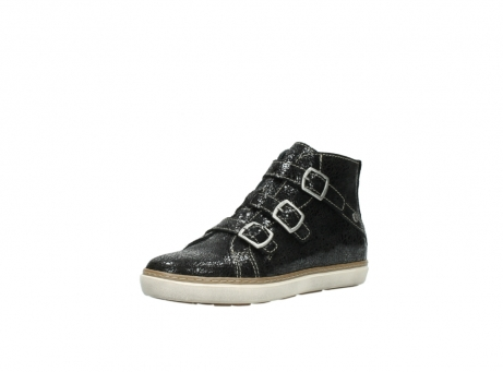 wolky sneakers 9455 vancouver 900 zwart craquele leer_22