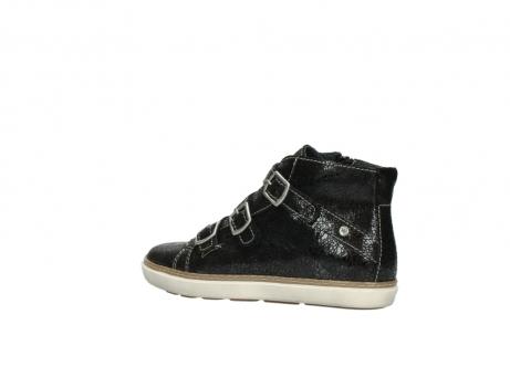 wolky sneakers 9455 vancouver 900 zwart craquele leer_3