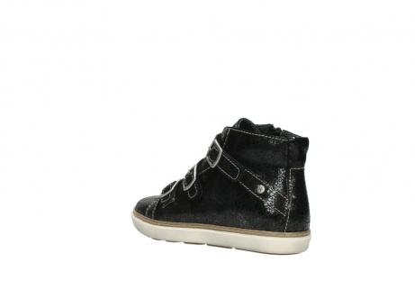 wolky sneakers 9455 vancouver 900 zwart craquele leer_4
