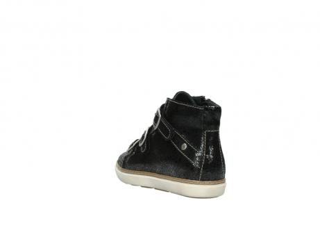 wolky sneakers 9455 vancouver 900 zwart craquele leer_5