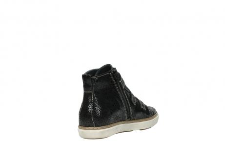 wolky sneakers 9455 vancouver 900 zwart craquele leer_9