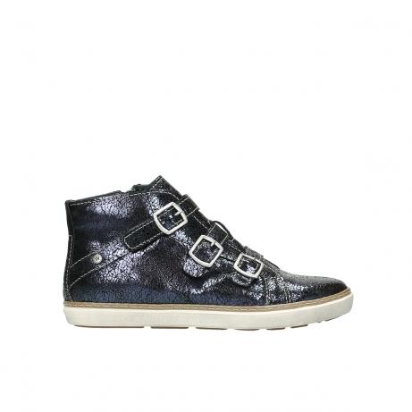 wolky sneakers 9455 vancouver 980 dunkelblau craquele leder