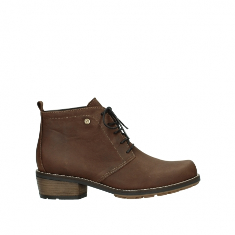 wolky lace up boots 00534 indus 11432 cognac oiled nubuck