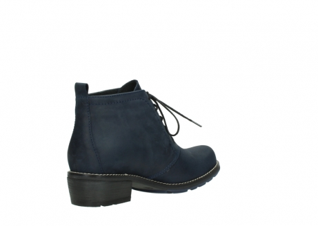 wolky lace up boots 00534 indus 11802 blue oiled nubuck_10
