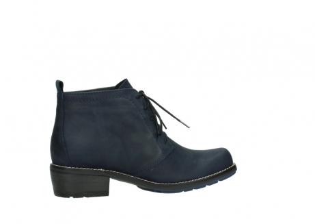 wolky lace up boots 00534 indus 11802 blue oiled nubuck_12