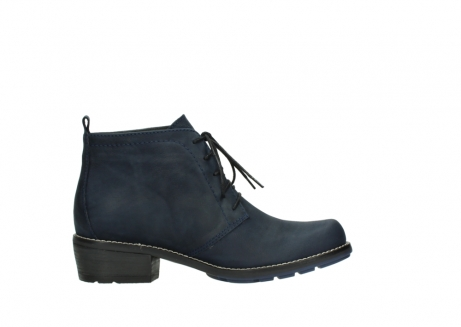 wolky lace up boots 00534 indus 11802 blue oiled nubuck_13