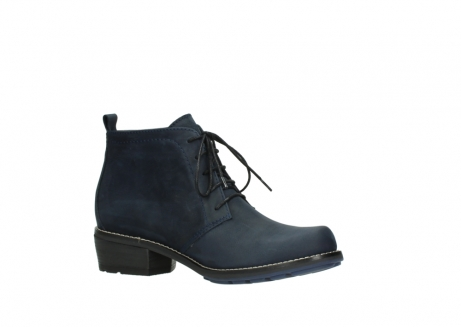 wolky lace up boots 00534 indus 11802 blue oiled nubuck_15