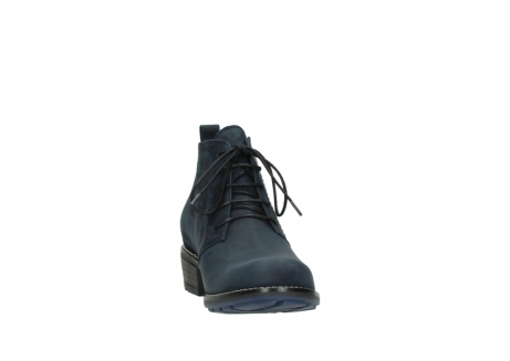wolky lace up boots 00534 indus 11802 blue oiled nubuck_18