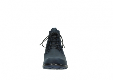 wolky lace up boots 00534 indus 11802 blue oiled nubuck_19