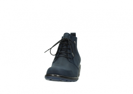 wolky lace up boots 00534 indus 11802 blue oiled nubuck_20