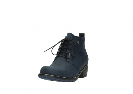 wolky lace up boots 00534 indus 11802 blue oiled nubuck_21