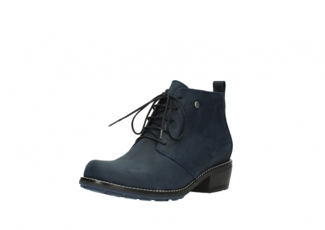 wolky lace up boots 00534 indus 11802 blue oiled nubuck_22