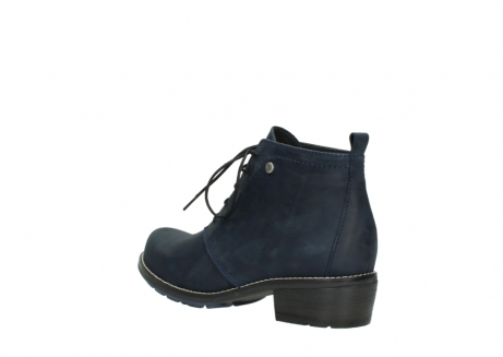 wolky lace up boots 00534 indus 11802 blue oiled nubuck_4