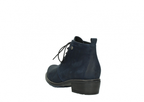 wolky lace up boots 00534 indus 11802 blue oiled nubuck_5