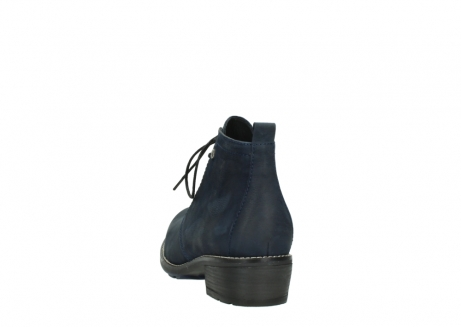 wolky lace up boots 00534 indus 11802 blue oiled nubuck_6