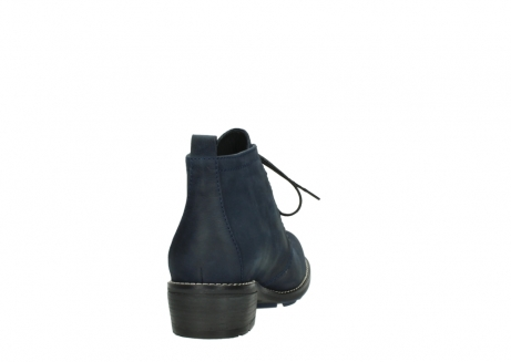 wolky lace up boots 00534 indus 11802 blue oiled nubuck_8