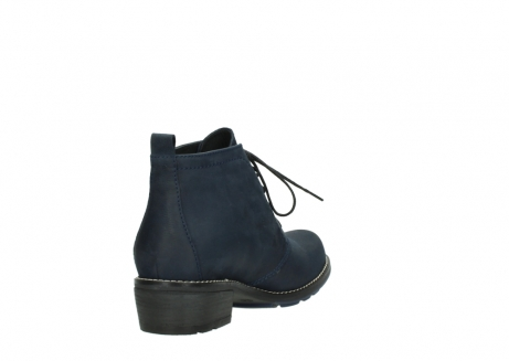 wolky lace up boots 00534 indus 11802 blue oiled nubuck_9