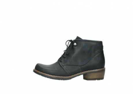 wolky lace up boots 00565 real 30000 black leather_1