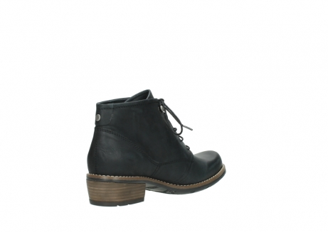 wolky lace up boots 00565 real 30000 black leather_10