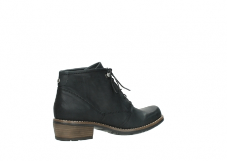 wolky lace up boots 00565 real 30000 black leather_11