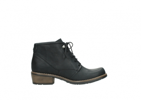 wolky lace up boots 00565 real 30000 black leather_13