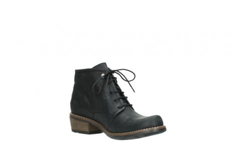 wolky lace up boots 00565 real 30000 black leather_16