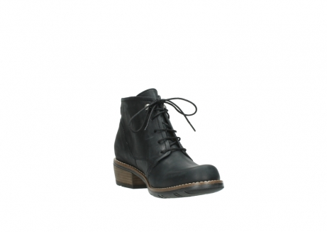 wolky lace up boots 00565 real 30000 black leather_17