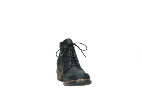 wolky lace up boots 00565 real 30000 black leather_18