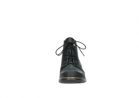 wolky lace up boots 00565 real 30000 black leather_19