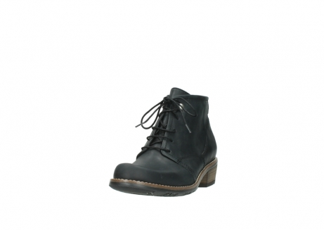 wolky lace up boots 00565 real 30000 black leather_21