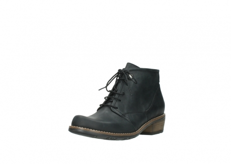 wolky lace up boots 00565 real 30000 black leather_22