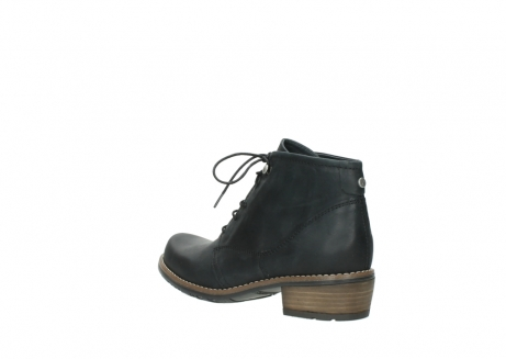 wolky lace up boots 00565 real 30000 black leather_4