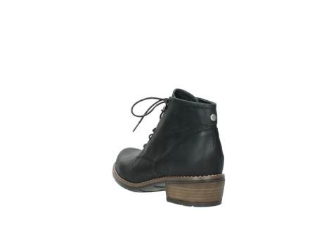 wolky lace up boots 00565 real 30000 black leather_5
