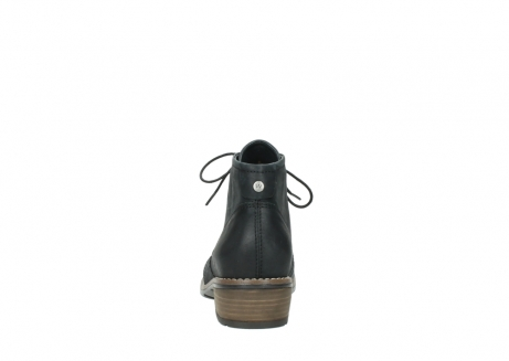wolky lace up boots 00565 real 30000 black leather_7